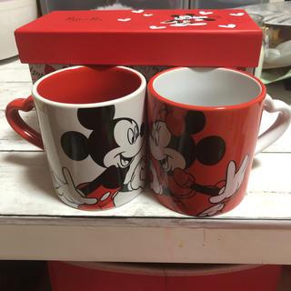 Disney - ミッキー ミニーペアマグカップ ディズニーストア