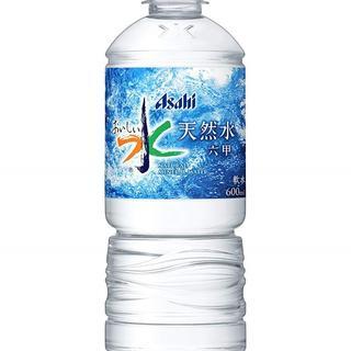 お得!おいしい水☆600ml×24本 (ミネラルウォーター)
