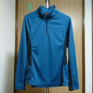 ジーユー(GU)のジーユースポーツ トレーニングウェア ダークグリーン Sサイズ(ウェア)