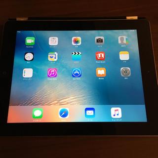 iPad - iPad4 wifi 16GB 純正革蓋付き