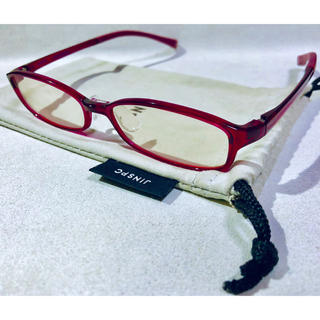 ジンズ(JINS)のJINS ジンズ ブルーライトカット PCスマホ用メガネ(サングラス/メガネ)