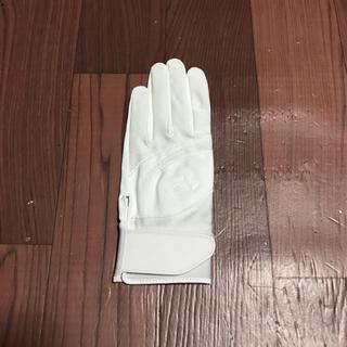 アンダーアーマー(UNDER ARMOUR)のラスト1 アンダーアーマー  LG ホワイト 左手 守備用 手袋 グローブ 野球(グローブ)