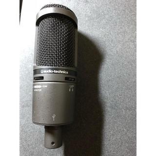 オーディオテクニカ(audio-technica)のAudio-technica コンデンサー AT2020 USB マイクスタンド(マイク)