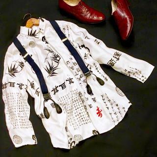 デプト(DEPT)のアンティークシャツ(カットソー(長袖/七分))