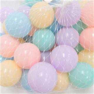 OA002 送料無料♪パステルカラーボール50個セット♪(ボール)