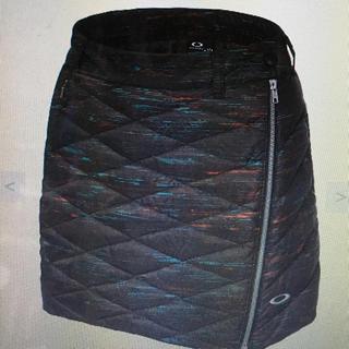 オークリー(Oakley)のオークリー ダウンスカート M  黒系(ウエア)
