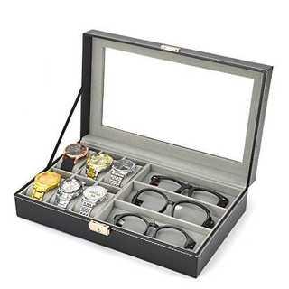 【送料無料】腕時計 ・ メガネ 収納BOX コレクションケース(その他)