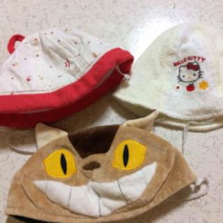 子供 帽子セット キッズ ネコバス キティー(帽子)
