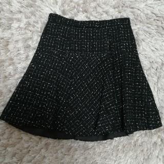 Apuwriser riche のツイードスカート