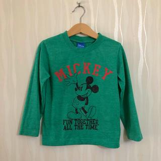 シマムラ(しまむら)のミッキーマウス 長袖 カットソー 110サイズ(Tシャツ/カットソー)