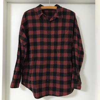 ジーユー(GU)のGU チェックシャツ(シャツ/ブラウス(長袖/七分))
