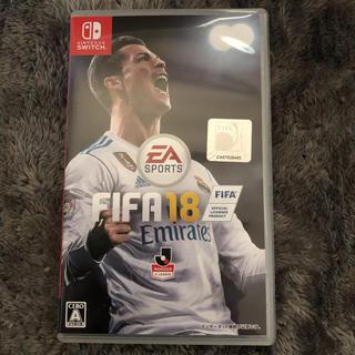 ニンテンドースイッチ(Nintendo Switch)の【美品】FIFA 18 ニンテンドースイッチ サッカー(家庭用ゲームソフト)