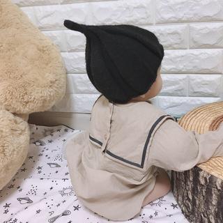 小人 とんがり帽●着画あり(帽子)