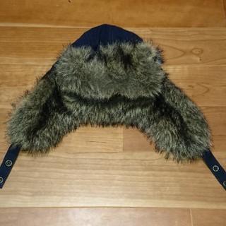 プチバトー(PETIT BATEAU)のプチバトー☆フライトキャップ(帽子)