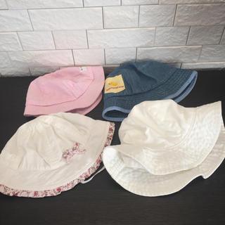 ミキハウス(mikihouse)の帽子 4点セット(帽子)