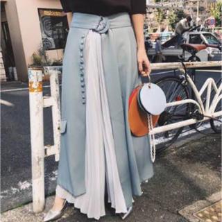 アメリヴィンテージ(Ameri VINTAGE)のameri vintage 2way pleats pants プリーツパンツ(その他)