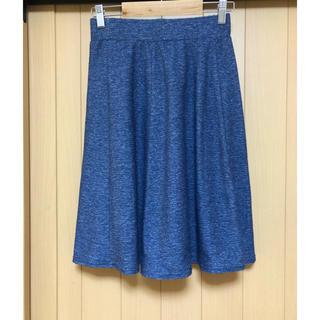 ジーユー(GU)の送料込 【GU】Aラインスカート(M)(ひざ丈スカート)