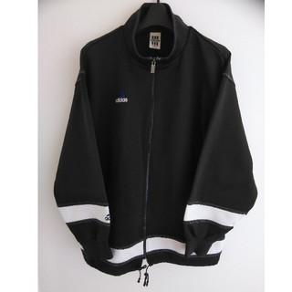 アディダス(adidas)のadidas トラックジャケット ブラック×ホワイト(ジャージ)