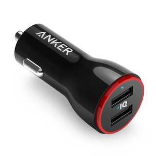 Anker PowerDrive 2 USBカーチャージャー(バッテリー/充電器)