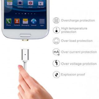 microUSB Android マグネット USB充電ケーブル マグネット(その他)