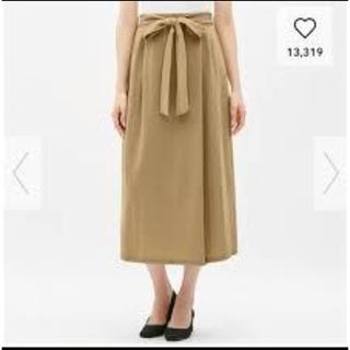 ジーユー(GU)のGU ロングリボンスカート(ロングスカート)