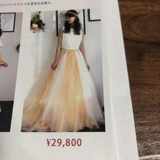 二次会⭐︎カラードレス(ウェディングドレス)