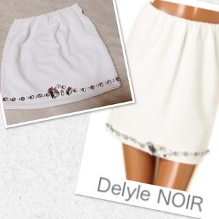 デイライルノアール(Delyle NOIR)のDelyle Noir 新品♡ビジュースカート(ミニスカート)