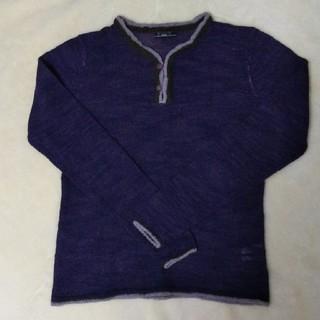 イッカ(ikka)のikka 紫 セーター ニット イッカ(ニット/セーター)