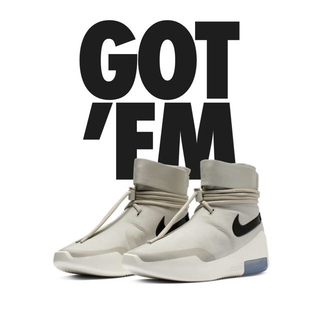 NIKE - 27.5cm nike air shoot around fear of god