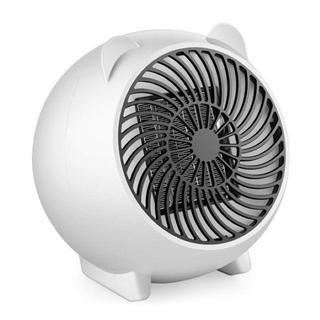 お買い得★セラミックファンヒーター 3秒速暖☆ホワイト(ファンヒーター)