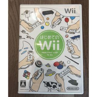 ウィー(Wii)のはじめてのWiiパック(家庭用ゲームソフト)