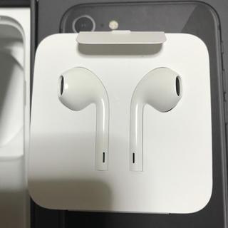 Apple - iphone7 iphone8 イヤホン付属品