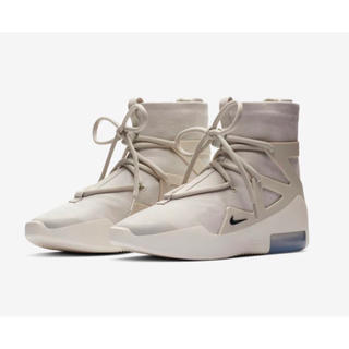 ナイキ(NIKE)のAIR FEAR OF GOD 1 LIGHT BONE  28.5cm(スニーカー)