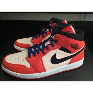 ナイキ(NIKE)のAIR JORDAN 1 MID SE ORANGE 31cm(スニーカー)