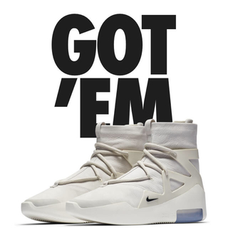 ナイキ(NIKE)のNIKE AIR FEAR OF GOD 1(スニーカー)