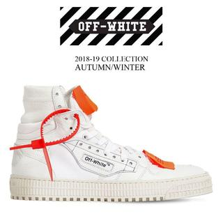 オフホワイト(OFF-WHITE)の【1】OFF-WHITE 18aw LOW 3.0 SNEAKER size42(スニーカー)