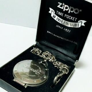 ZIPPO - ZIPPO ジッポー クロノグラフ クオーツ懐中時計