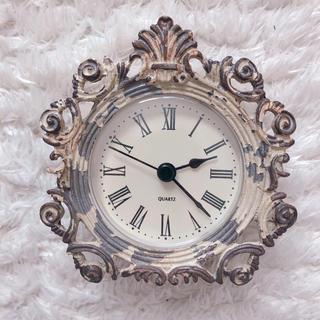フランフラン(Francfranc)のアンティーク風 置き時計(置時計)