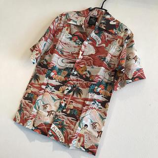 グラム(glamb)の新品未使用 送料無料 ヴィンテージ glamb アロハシャツ(シャツ)