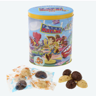 ディズニー(Disney)のトイストーリー チョコクランチ 缶 ディズニーシー ピクサー(菓子/デザート)