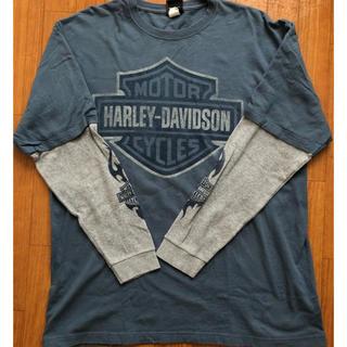 Harley Davidson - HARLEY DAVIDSON  ロンT 古着