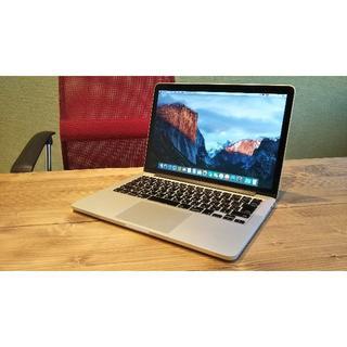 Mac (Apple) - MacBookPro retina 13inch MGX72J/A カスタム