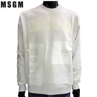 エムエスジイエム(MSGM)のMSGM トレーナー 白 新品(パーカー)