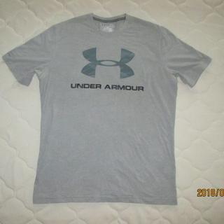 アンダーアーマー(UNDER ARMOUR)のアンダーアーマー グレーTシャツ heat gear サイズM(Tシャツ/カットソー(半袖/袖なし))