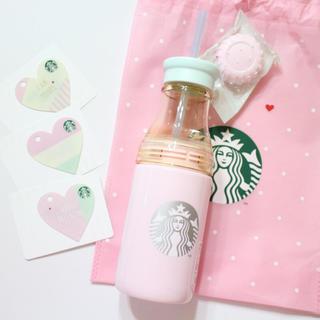 スターバックスコーヒー(Starbucks Coffee)のスタバ  バレンタイン サニーボトル 新品未使用(タンブラー)