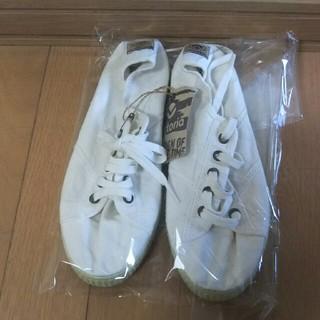 パトリック(PATRICK)のビクトリアvictoriaスニーカー37(23.5㎝)新品ホワイト(スニーカー)