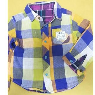 エフオーキッズ(F.O.KIDS)のリバーシブル 長袖シャツ 95cm(Tシャツ/カットソー)