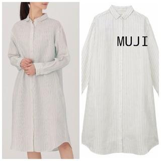 MUJI (無印良品) - 新品 無印良品 リネンワンピース M