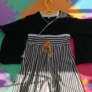 袴ロンパース 90(和服/着物)