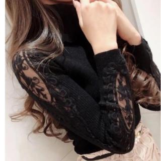 Delyle NOIR - 最新作タグ付デイライル☆ショルダーレース エイミー リエンダ ダチュラ Rady